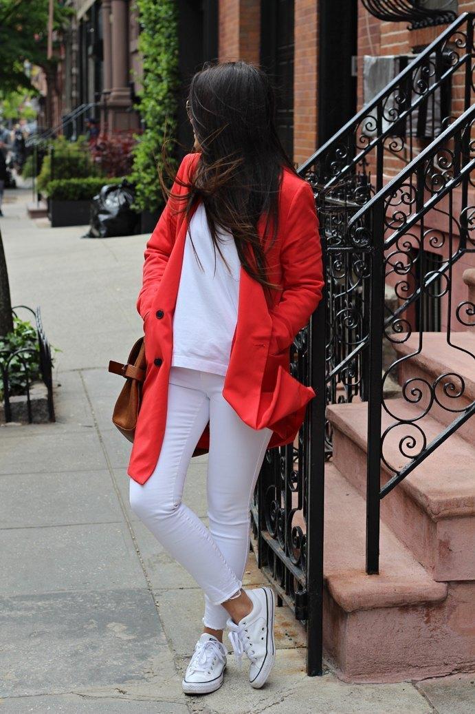 marikowskaya street style carmen blazer roja (6)