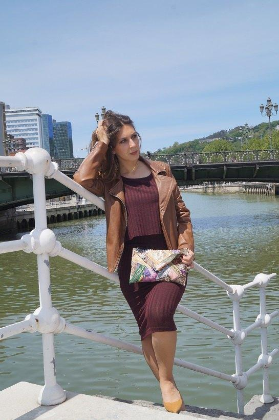 marikowskaya street style lorena vestido granate (4)