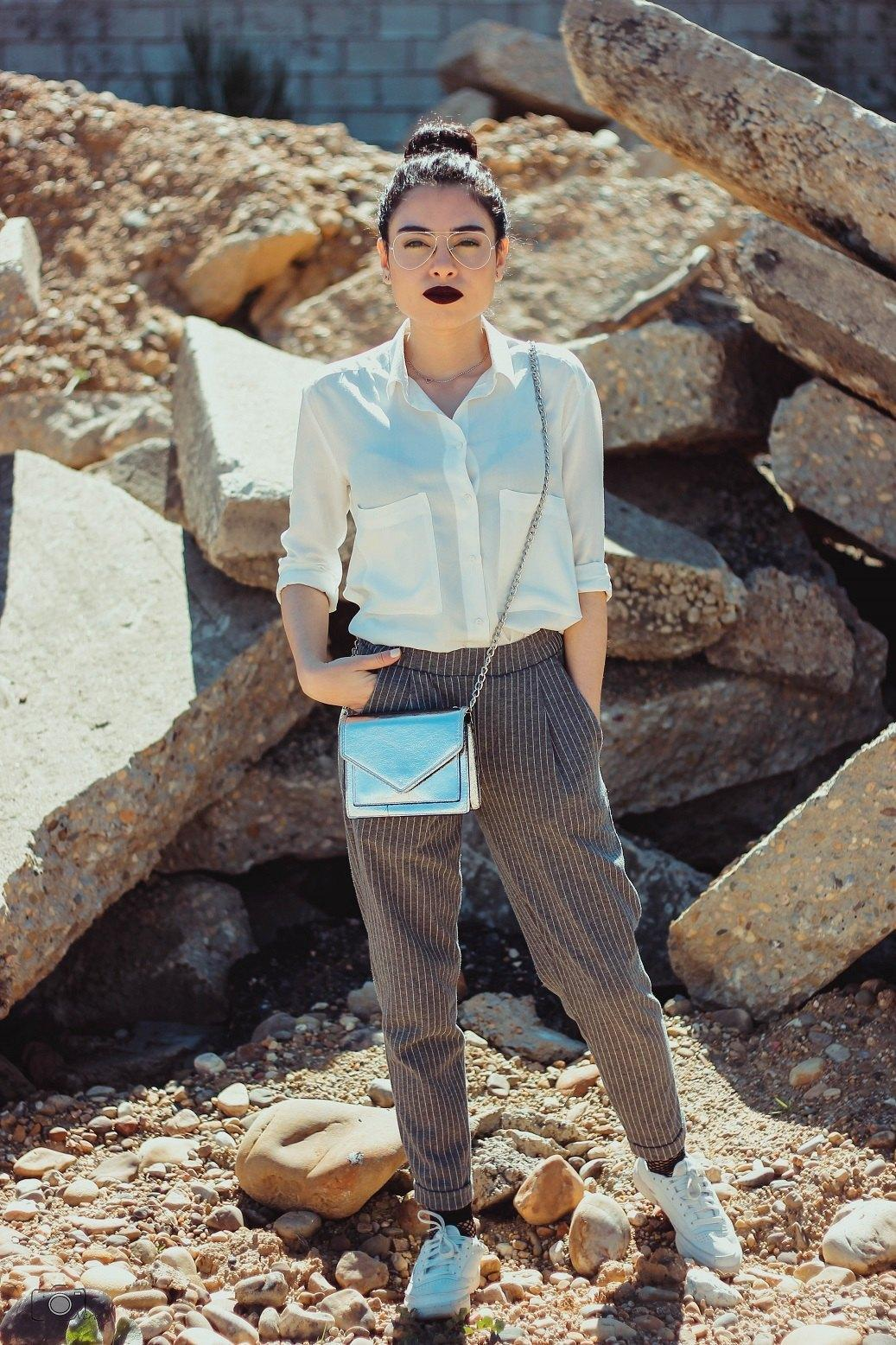 marikowskaya street style lu pantalón raya diplomática (5)