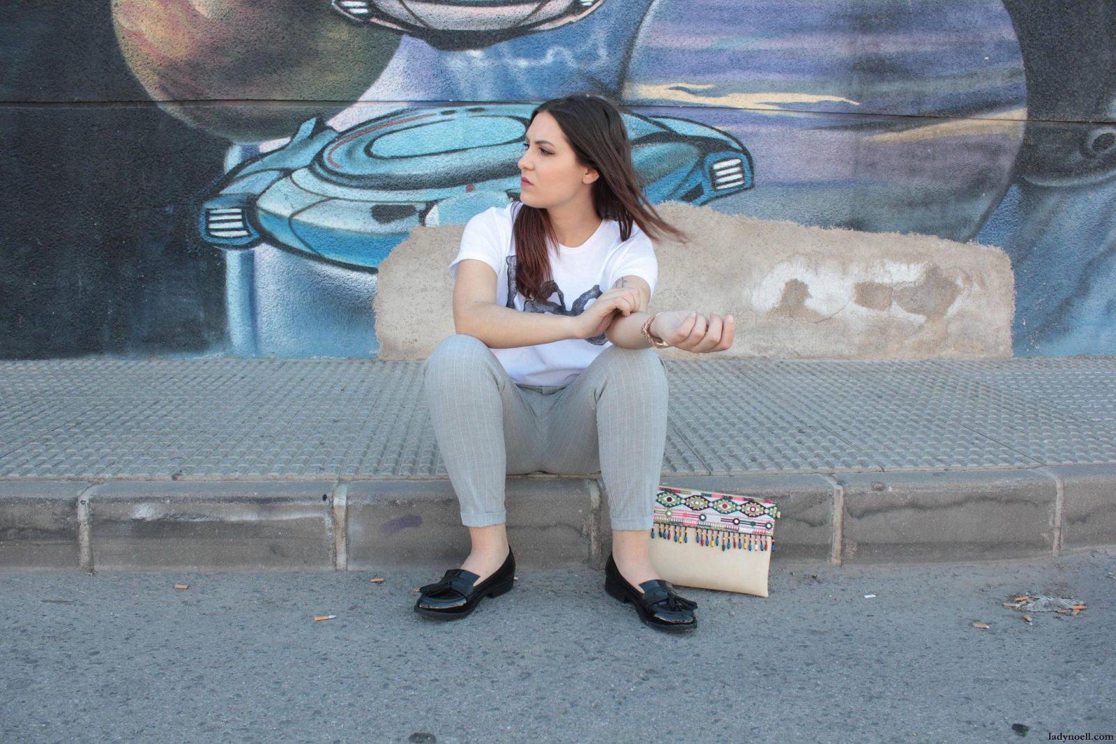 marikowskaya street style noelia camiseta lee (3)